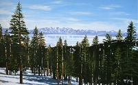 LAKE TAHOE, VIEW FROM NORTHSTAR